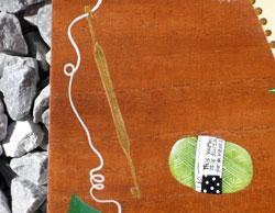 編み物教室看板プレー ト